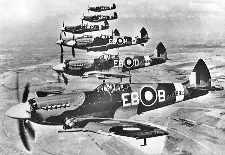Spitfire Mk XII, Gemeinfrei