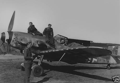Bf 109 G-10 W.Nr. 61x xxx, II./JG 3, Garz, February 1945, Bild von  Marc-André Haldimann, CC BY-NC-SA 2.0