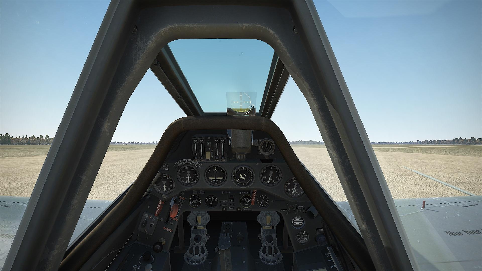 Fw 190 A-3 Cockpit, Bild von Kaltkori, Gemeinfrei