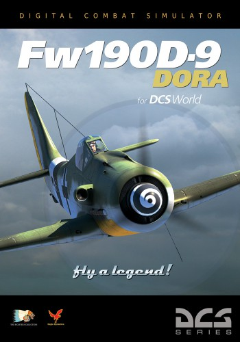 DCS: Fw 190 D-9 Dora, DVD-Cover, (c) agle Dynamics, Inc.