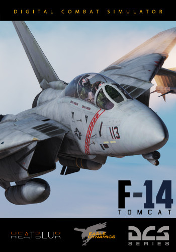 DCS: F-14 Tomcat von Heatblur Simulations, © 1991-2019, The Fighter Collection & Eagle Dynamics, Inc.