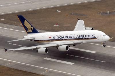 Singapore Airlines stellte die A380 als erste Fluggesellschaft in Dienst